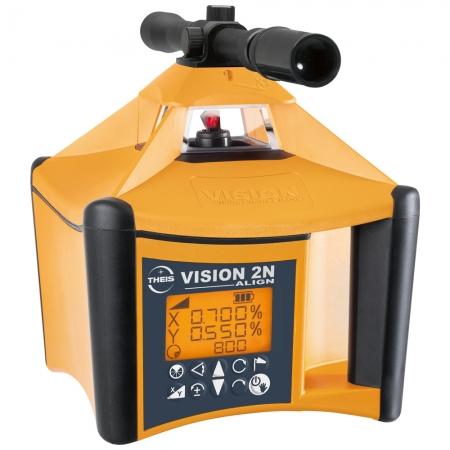 VISION 2N ALIGN + přijímač TE90 pro obě roviny s digitálním sklonem osy X i Y a funkcí zacílení na cíl ALIGN