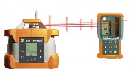 Nedo PRIMUS HVA pro vodorovnou a svislou rovinu s funkcí AutoAlign (zarovnání paprsku dle polohy přijímače)
