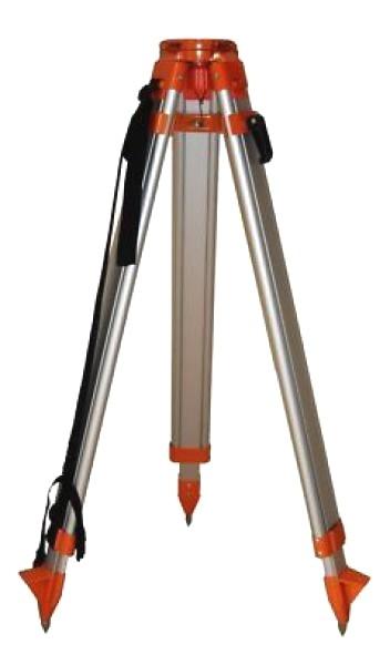 Nivelo N147 stavební stativ s rovnou hlavou, rychlosvěrami a rozsahem 92 - 147 cm