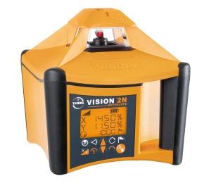 VISION 2N AUTOSLOPE + přijímač FR77-MM + dálkové ovládání FB-V pro vodorovnou rovinu s automatickým dorovnáváním nastaveného sklonu osy X a Y