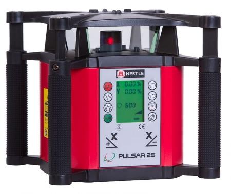 Nestle PULSAR 2S pro vodorovnou a svislou rovinu a digitálně nastavené sklony v ose X a Y
