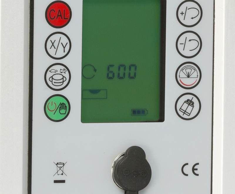 Nestle PULSAR 2S pro vodorovnou a svislou rovinu a digitálně nastavené sklony v ose X a Y, fotografie 3/3