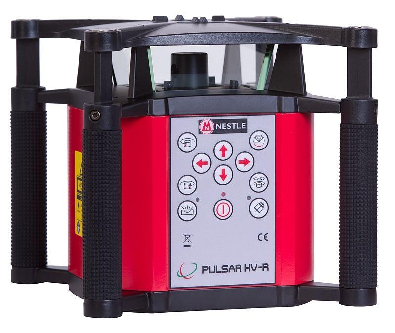 Nestle PULSAR HV-R pro vodorovnou a svislou rovinu a manuálně nastavené sklony v ose X a Y