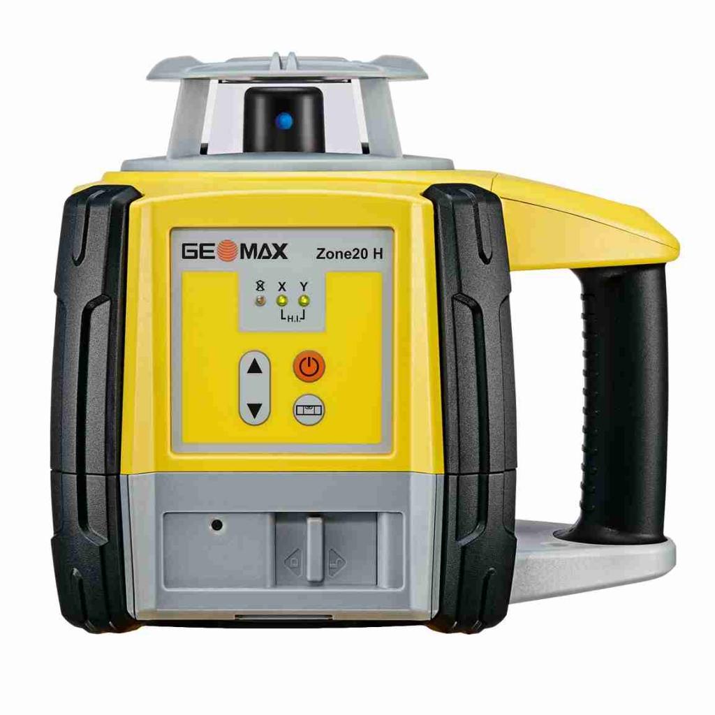 Geomax ZONE20 H pro vodorovnou rovinu a manuální sklon v ose X a Y do +/- 8 %