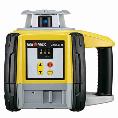 Geomax ZONE40 H pro vodorovnou rovinu a manuální sklon v ose X a Y do +/- 8 %