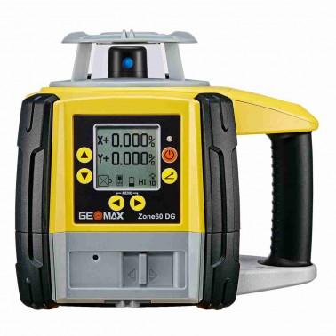 Geomax ZONE60 DG pro vodorovnou rovinu a digitální sklon v ose X a Y do +/- 15 %