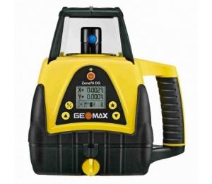Geomax ZONE 70 DG pro vodorovnou rovinu a digitální sklon v ose X nebo Y od - 5 až do + 25 %