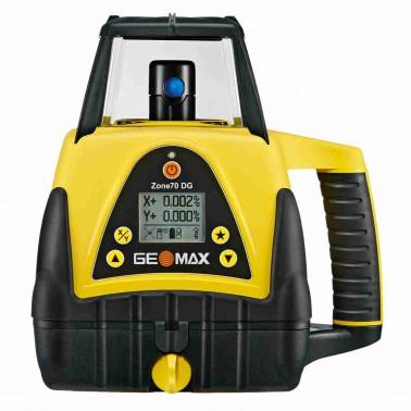 Geomax ZONE70 DG pro vodorovnou rovinu a digitální sklon v ose X nebo Y od - 5 až do + 25 %