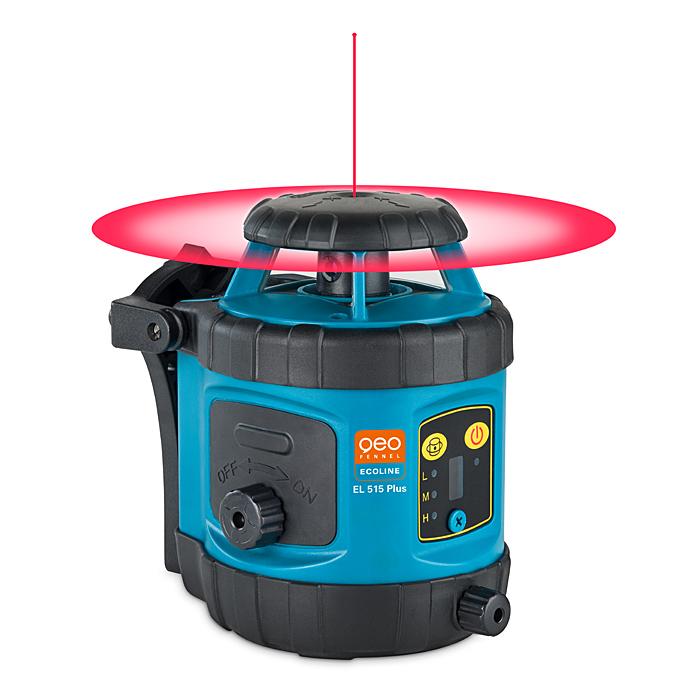 Rotační laser EL 515 pro vodorovnou a svislou rovinu