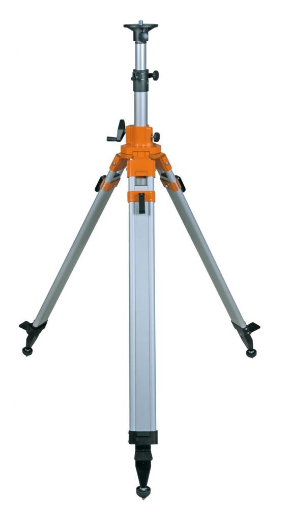 Nedo N678 těžký klikový stativ s rychlosvěrami a rozsahem 101 - 294 cm