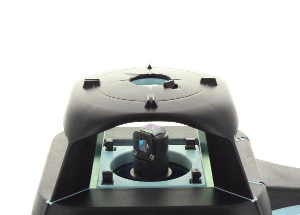 Hedü S2G pro obě roviny a manuální sklon v ose X a Y do +/- 10 % s dobíjením přes USB a Li-Ion aku, fotografie 11/8