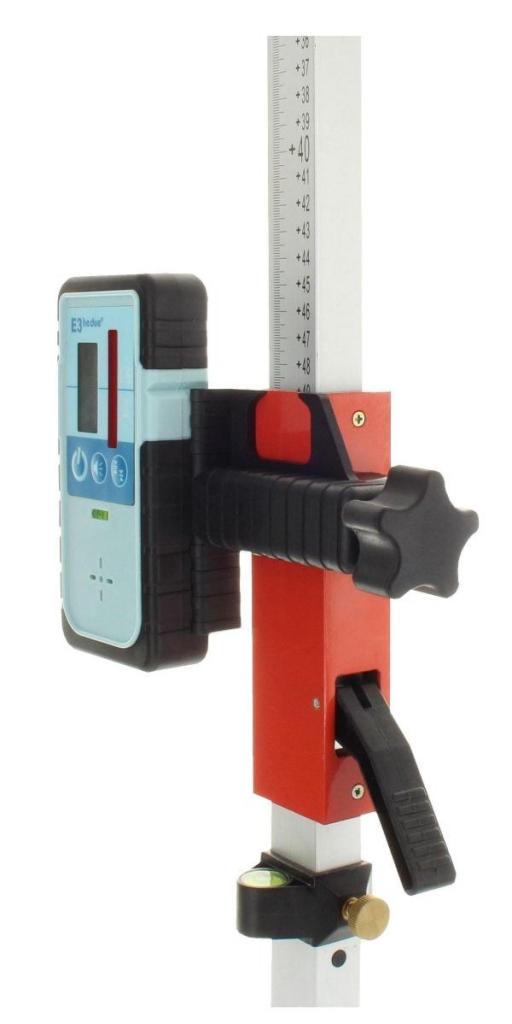 Hedü S2G pro obě roviny a manuální sklon v ose X a Y do +/- 10 % s dobíjením přes USB a Li-Ion aku, fotografie 3/8