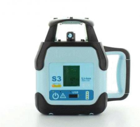 Hedü S3 pro obě roviny a digitální sklon v ose X a Y do +/- 10 % s dobíjením přes USB a Li-Ion aku