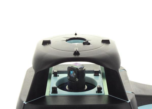 Hedü S3 pro obě roviny a digitální sklon v ose X a Y do +/- 10 % s dobíjením přes USB a Li-Ion aku, fotografie 11/7