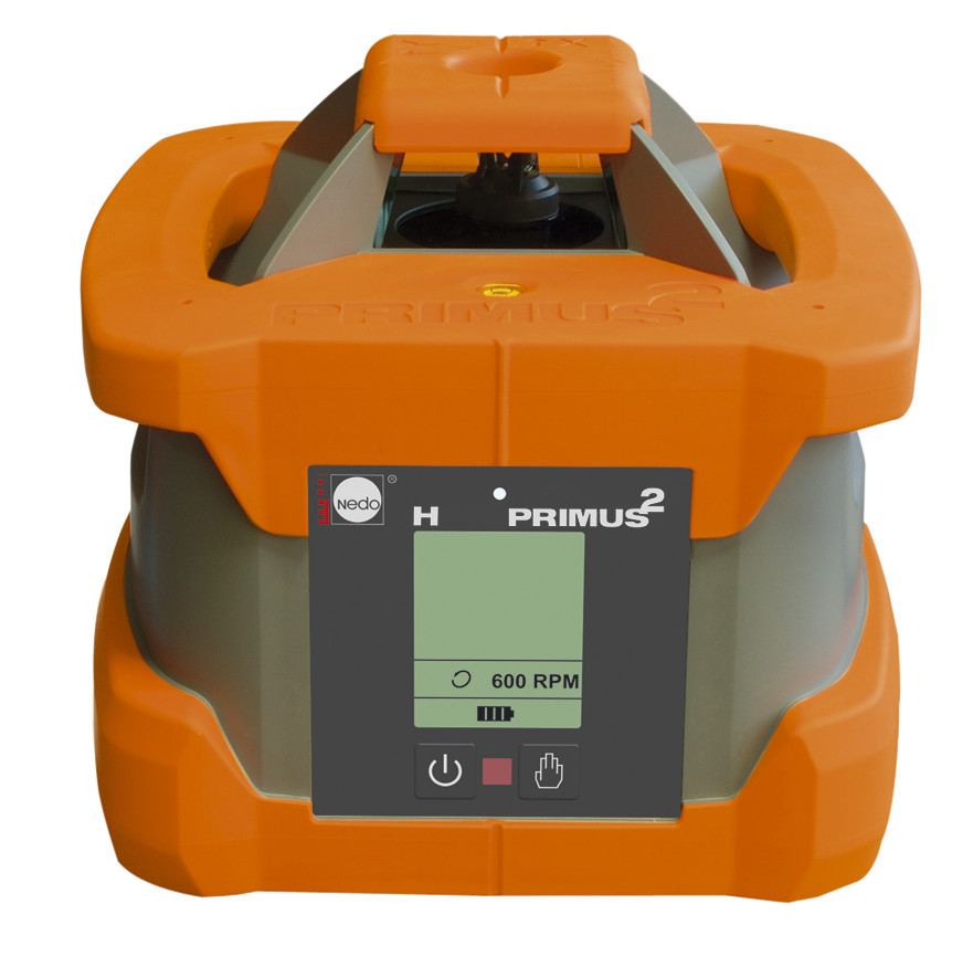 Nedo PRIMUS H pro vodorovnou rovinu s urovnáním pomocí servomotoru