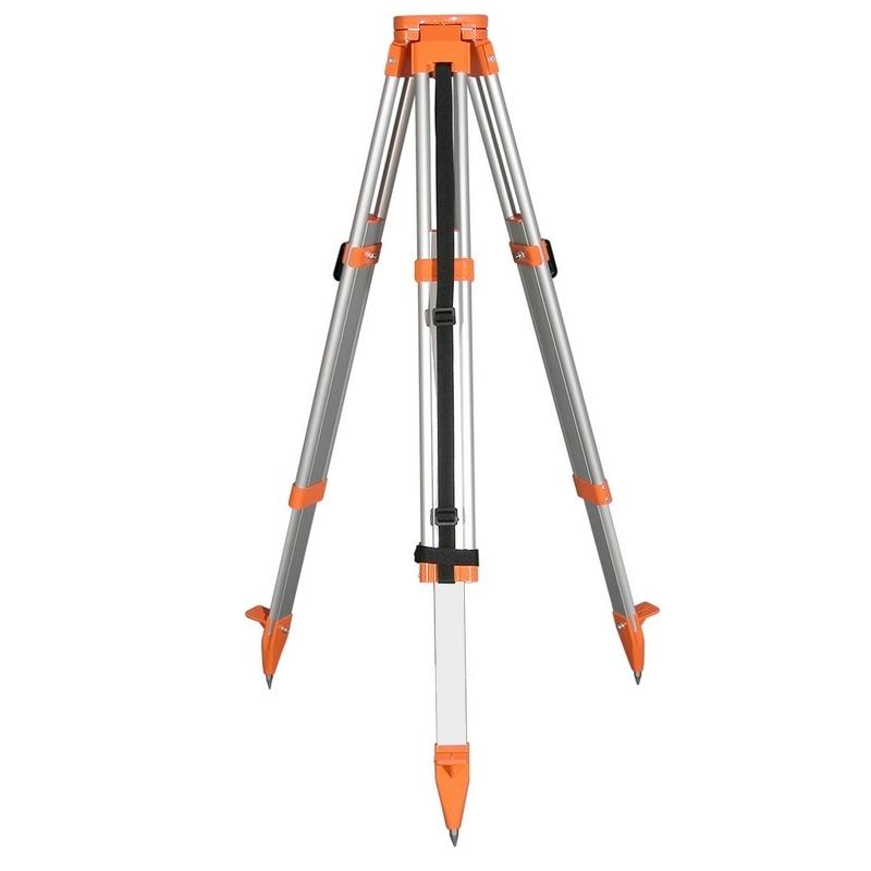Nivelo N165 stavební stativ s rovnou hlavou, rychlosvěrami a rozsahem 105 - 165 cm