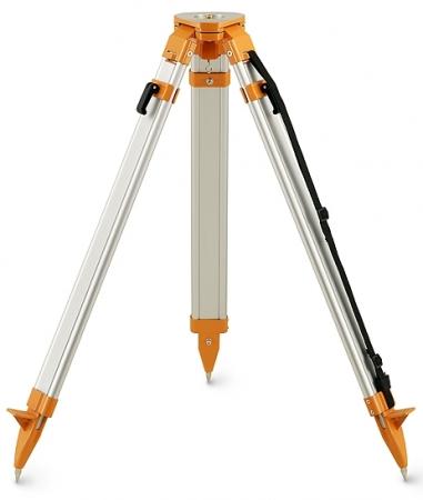 Nivelo N170 těžký stavební stativ s rovnou hlavou, rychlosvěrami a rozsahem 105 - 170 cm