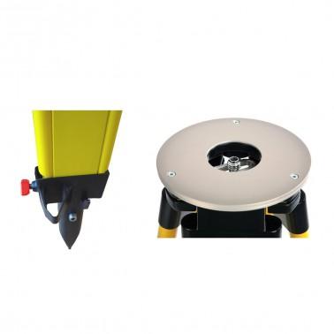 Nestle N373 s kulovou odnímatelnou hlavou a šrouby s rozsahem 90 - 170 cm, fotografie 5/3
