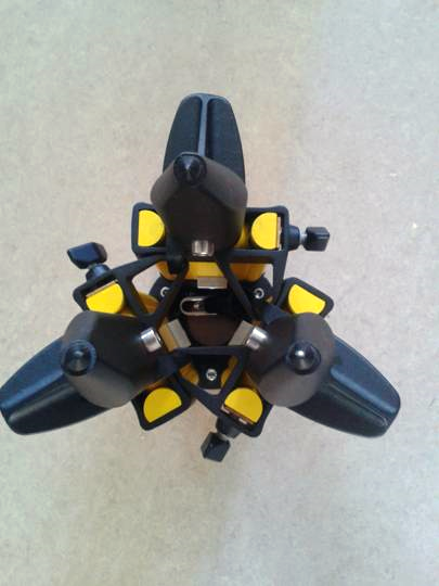 Nestle N375 těžký dřevěný stativ s kulovou odnímatelnou hlavou, autoaretací ramen a šrouby s rozsahem 90 - 170 cm, fotografie 5/5
