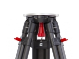 Nestle N706 karbonový stativ s klasickou hlavou a šrouby s rozsahem 93 - 169 cm, fotografie 5/5