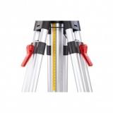 Nestle N322 velký klikový stativ s rychlosvěrami a rozsahem 150 - 300 cm, fotografie 5/3