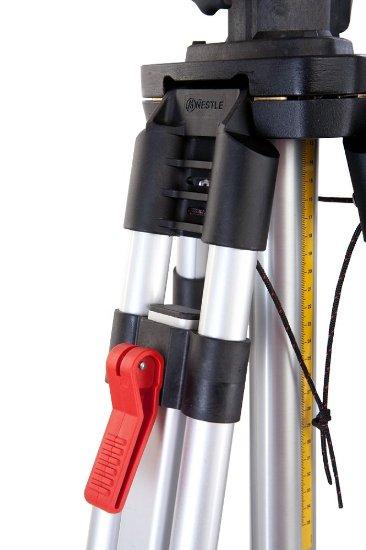 Nestle N341 profi klikový stativ s rychlosvěrami a rozsahem 150 - 300 cm, fotografie 3/3