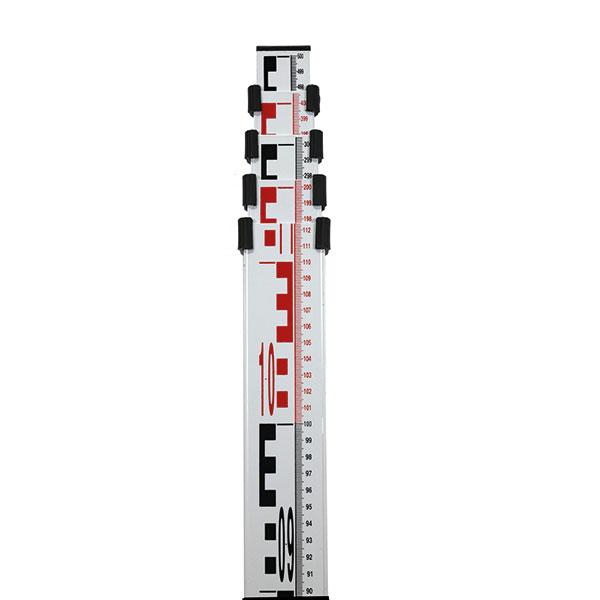 Nivelační lať NL15-MM s délkou 5 m a pouzdrem