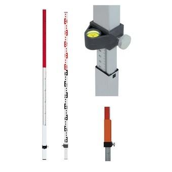 Laserová lať NL20 s délkou 2.4 m