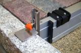 Nivelo NL16 nastavitelná stahovací lať s pracovní délkou 1 - 1.6 m, fotografie 7/6