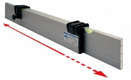 Nivelo NL24 nastavitelná stahovací lať s pracovní délkou 1.4 - 2.4 m
