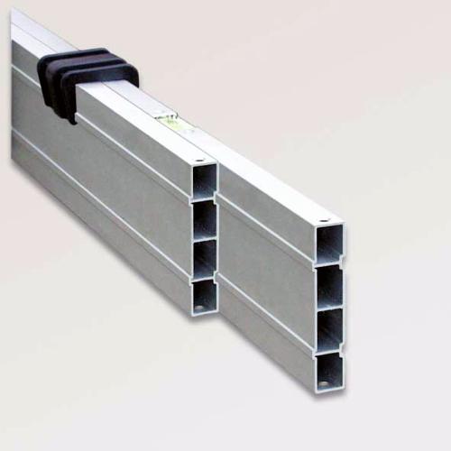 Nivelo NL28 nastavitelná stahovací lať s pracovní délkou 1.6 - 2.75 m, fotografie 1/6