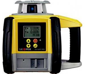 Geomax ZONE 60HG pro vodorovnou rovinu a digitální sklon v ose X a Y do +/- 8 %
