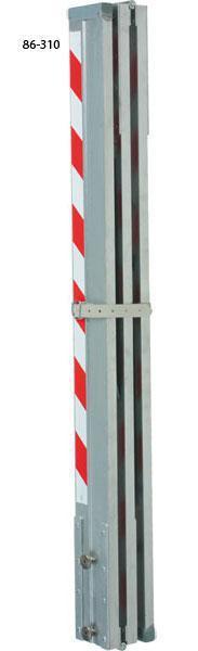 LK410 lať hliníková kontrolní 4 m / 1 m