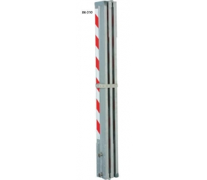 LK310 lať hliníková kontrolní 3 m / 1 m