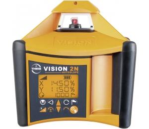 VISION 2N + přijímač FR45 pro vodorovnou a svislou rovinu s digitálním sklonem osy X a Y
