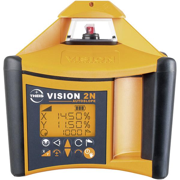 VISION 2N + přijímač FR77-MM + dálkové ovládání FB-V pro vodorovnou a svislou rovinu s digitálním sklonem osy X a Y