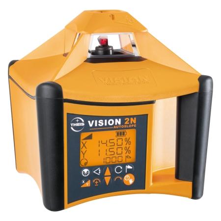 VISION 2N AUTOSLOPE + přijímač FR45 + dálkové ovládání FB-V pro vodorovnou rovinu s automatickým dorovnáváním nastaveného sklonu osy X a Y