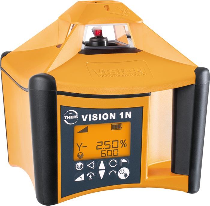 VISION 1N + přijímač FR77-MM + dálkové ovládání FB-V pro vodorovnou rovinu a digitální sklon v ose X