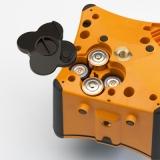 VISION 1N + přijímač FR77-MM + dálkové ovládání FB-V pro vodorovnou rovinu a digitální sklon v ose X, fotografie 3/5