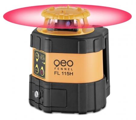GeoFennel FL 115H pro vodorovnou rovinu a sklony v ose X a Y