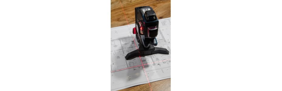 Rotační a křížový laser a jejich využití ve stavebnictví