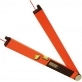 Profi digitální úhloměr LaserWinkeltronic 2 s délkou ramene 60 cm a 2x laserovým modulem, fotografie 7/4