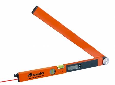 Profi digitální úhloměr LaserWinkeltronic 1 s délkou ramene 60 cm a 1x laserovým modulem