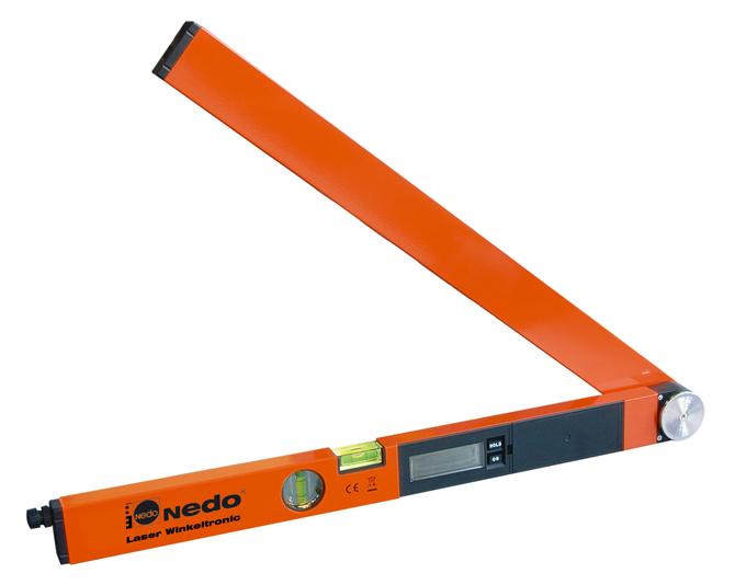 Profi digitální úhloměr LaserWinkeltronic 1 s délkou ramene 60 cm a 1x laserovým modulem, fotografie 7/4