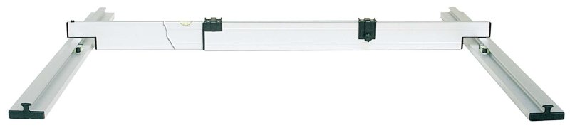 Nivelo BASIC set pro podlaháře sestávající z 1 nastavitelné latě a 2 stahovacích kolejnic, fotografie 9/5
