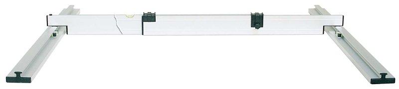 Nivelo PROFI set pro podlaháře sestávající ze 2 nastavitelných latí a 4 stahovacích kolejnic, fotografie 9/5