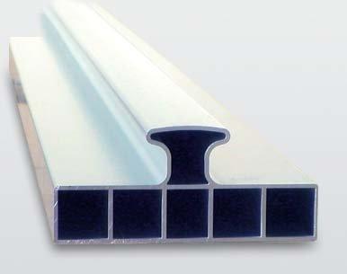 Nivelo PROFI PLUS set pro podlaháře sestávající z 2 nastavitelných latí a 4 stahovacích kolejnic, fotografie 7/5