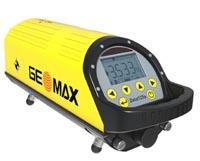 Geomax Zeta 125S pro úzká potrubí s automatickým cílením na terč