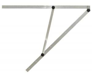 Velký mechanický úhelník G215 s délkou ramene 150 cm