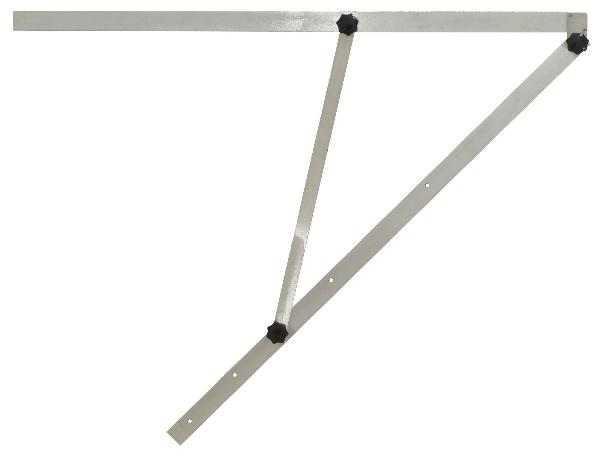 Velký mechanický úhelník G220 s délkou ramene 195 cm